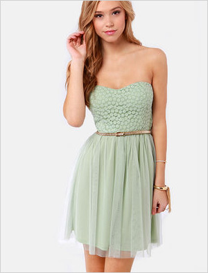 May I have this dance dress
