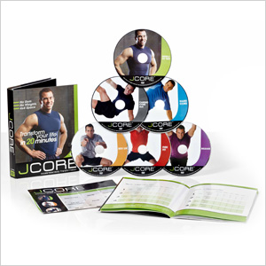 JCORE Accelerated Body Transformation DVD Set