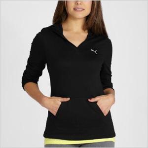 PUMA Hooded Layering Shirt
