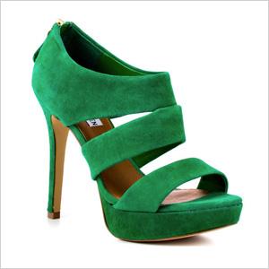 Buzzzer Green Suede