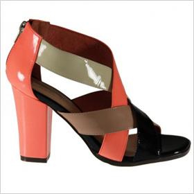 Dreamers leather sandals (Santini, $130)