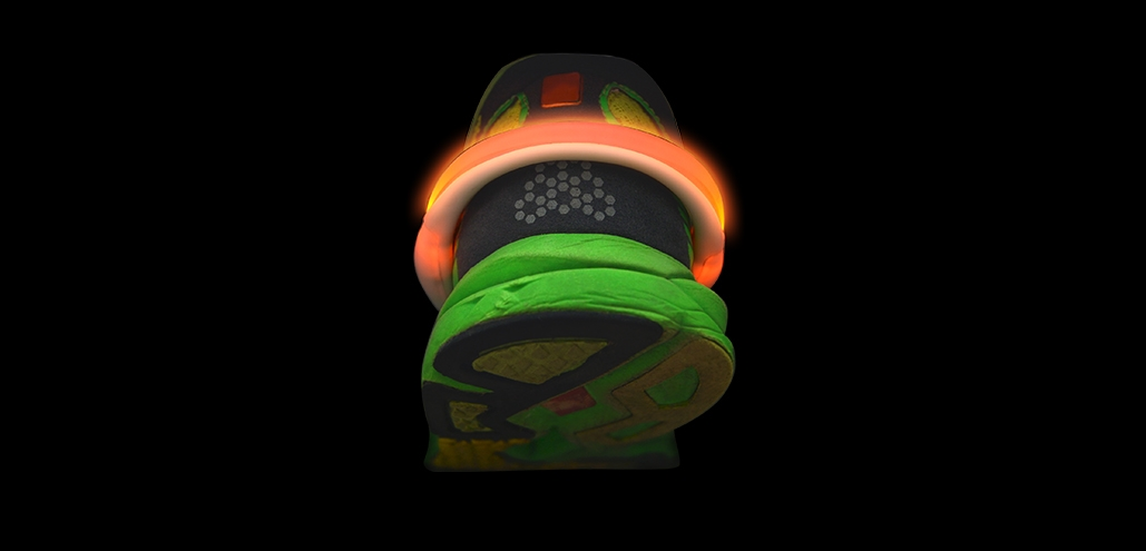glowing shoe attachments