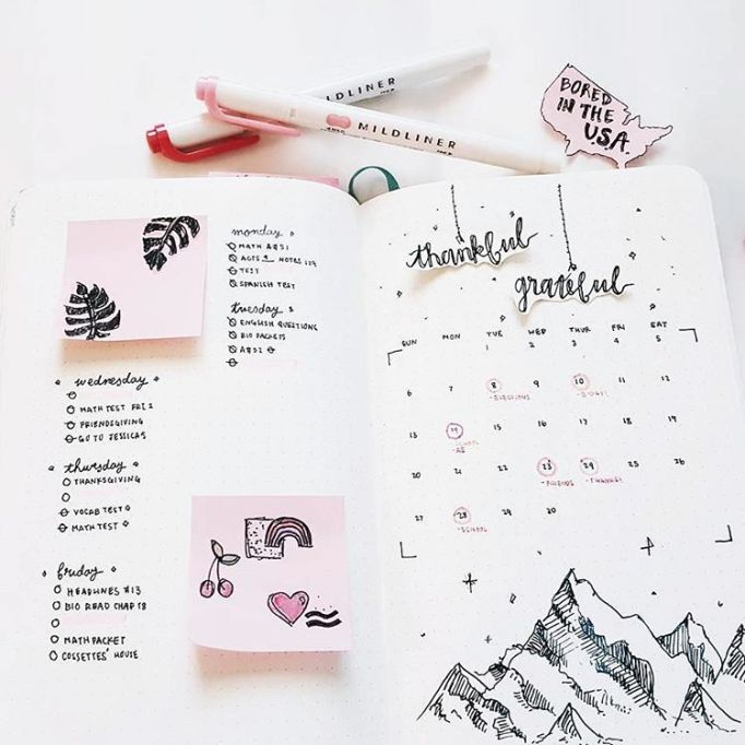 Journal with stationery