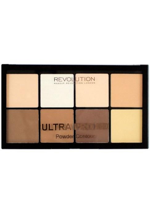 Contour Palettes For Almost Every Skin Tone: Makeup Revolution Pro HD Powder Contour Kit   Summer Makeup 2017
