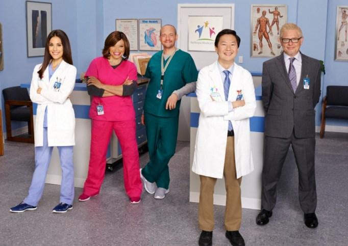 Dr. Ken cast