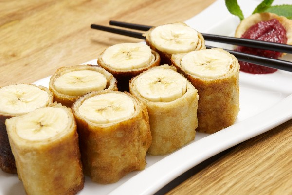 Fried Banana Rolls