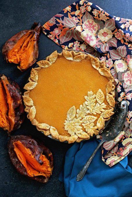 New Twists on Classic Thanksgiving Pies: Sweet Potato Chess Pie