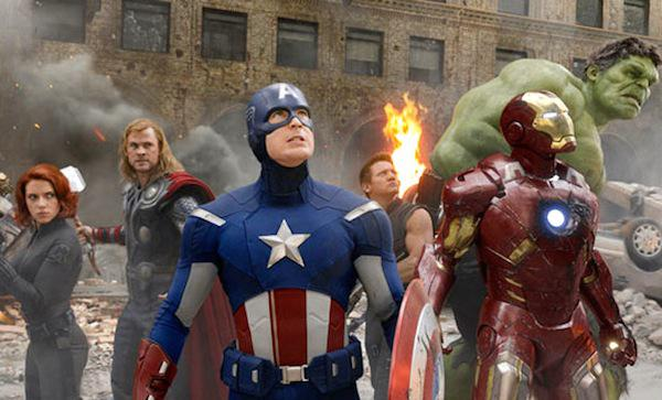Top 5 DVDs: The Avengers are