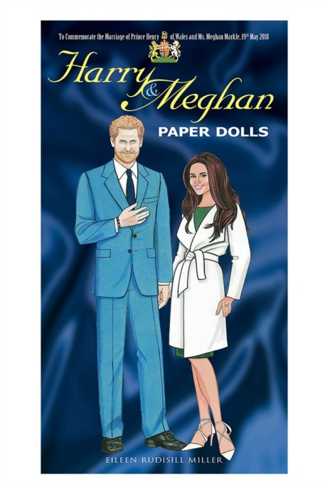 Royal Wedding Merchandise Paper Dolls