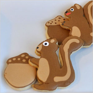 Squirrel cookie snack | Sheknows.com