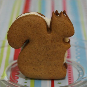 Squirrel spice sandwich cookie snack | Sheknows.com