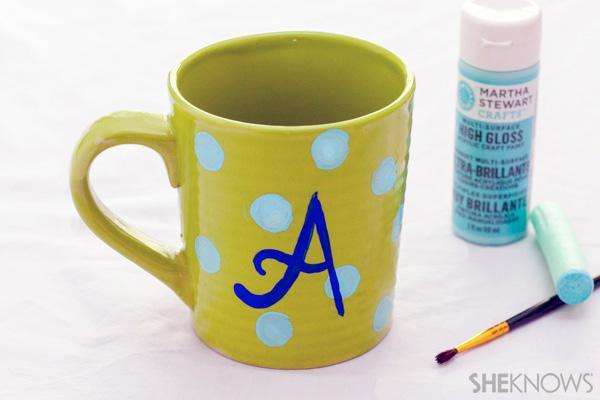 Homemade Mother's Day mug crafts