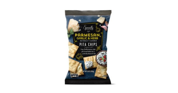 Crunchy pita chips are a great deal at Aldi