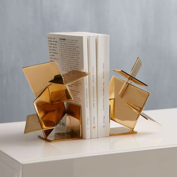 Wedding gifts under $100: brass bookends