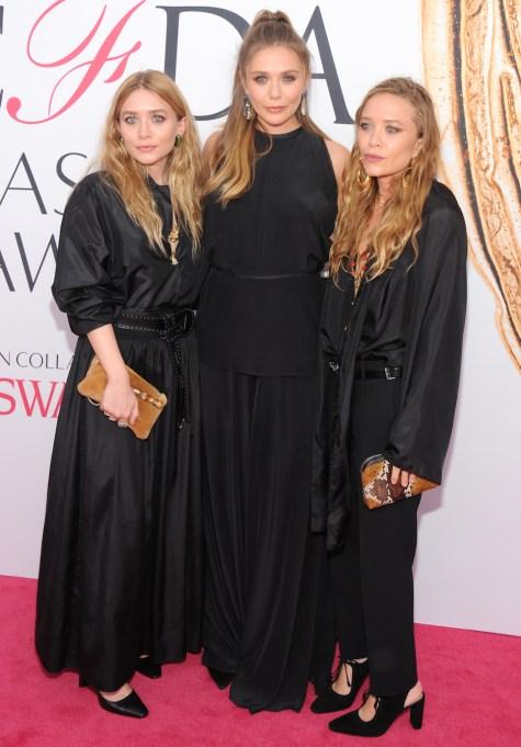 Mary Kate Olsen, Elizabeth Olsen, Ashley Olsen