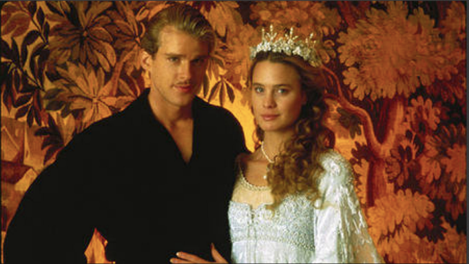 Wedding scene from 'The Princess Bride'