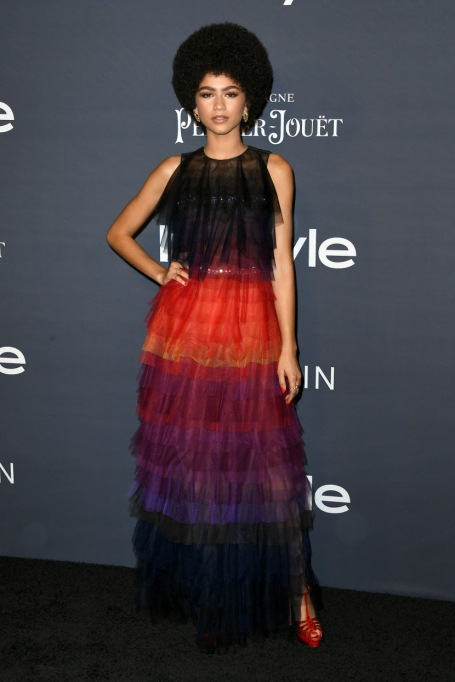 Zendaya's Killer Fashion Choices | Attending the 3rd Annual InStyle Awards