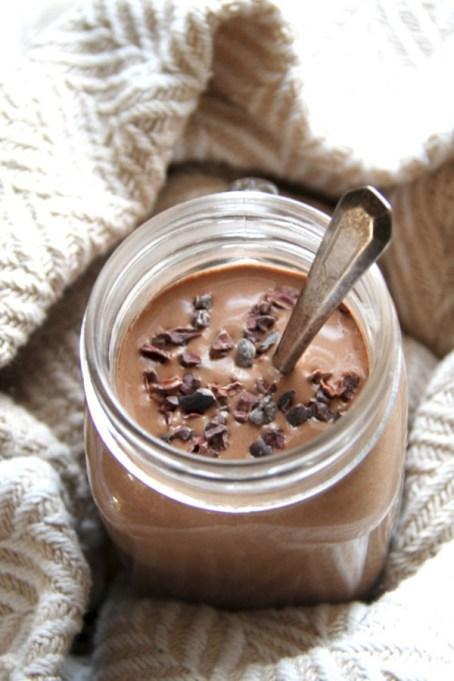 Easy Winter Breakfast Ideas | Hot Chocolate Breakfast Smoothie