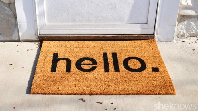 Home hack: DIY welcome mat upgrade