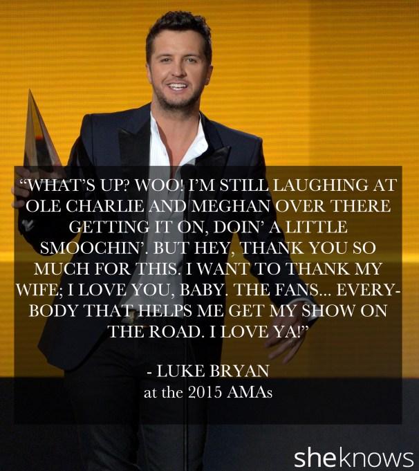Luke Bryan 2015 AMA