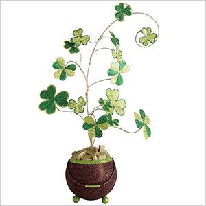 st. patrick's day clover tree