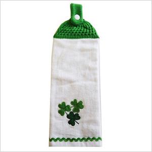 st. patrick's day kitchen towel