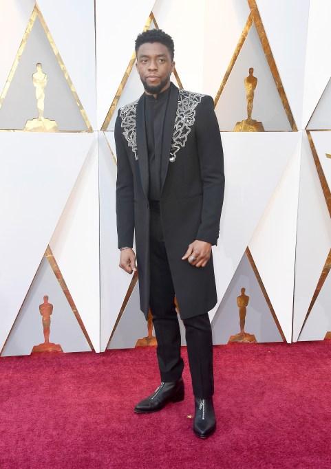 Chadwick Boseman Oscars 2018