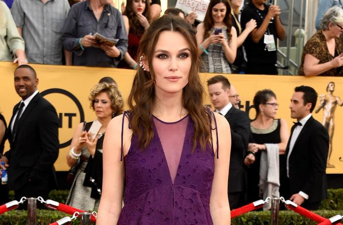 A pregnant Keira Knightley totally rocks