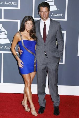 Fergie and Josh Duhamel at the 2010 Grammys