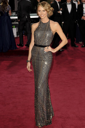 Stacy Keibler at the 2013 Oscars