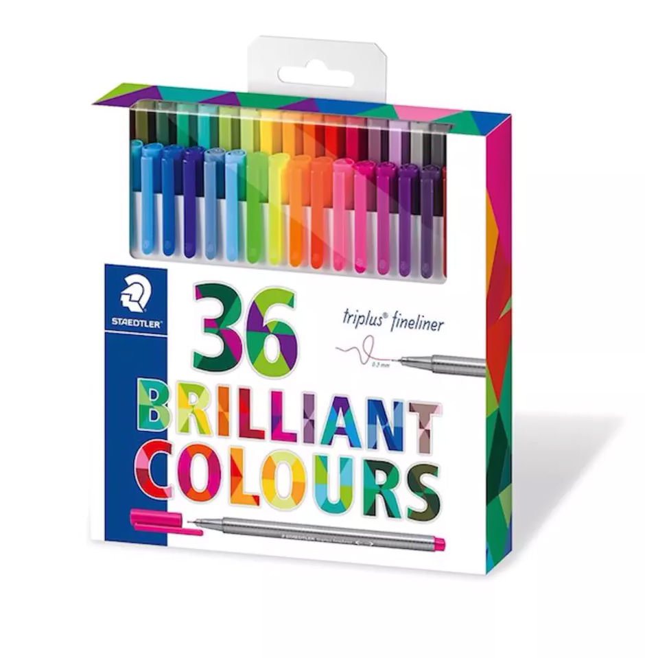 Gifts Your Kids' Teacher Really Wants: Staedtler 36 Brilliant Colour Markers