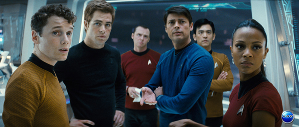 Chris Pine and his Star Trek crew hit the top of the box office