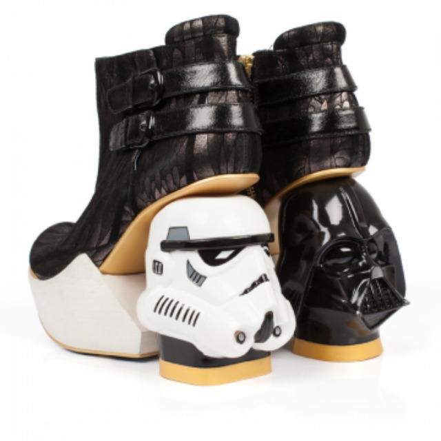 Then Death Star shoes