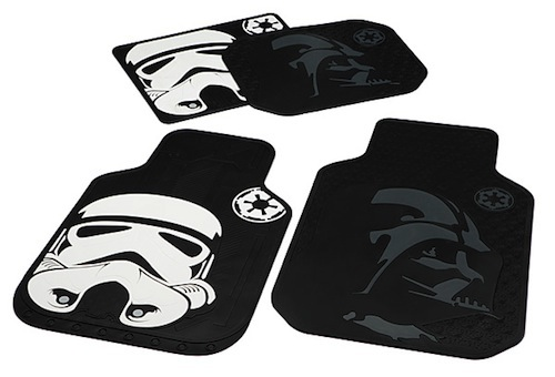 Star Wars floor mats