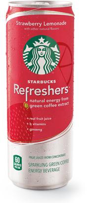 Starbucks Refreshers Sparkling Beverages