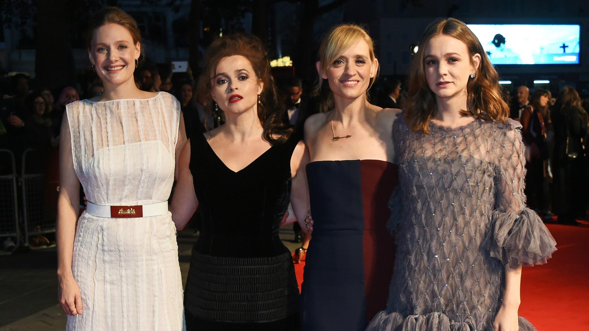 Stars at Suffragette world premiere in London