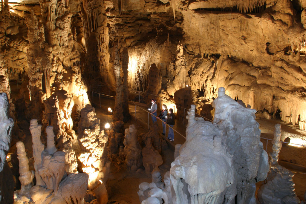 Cathedral Caverns State Park, AL