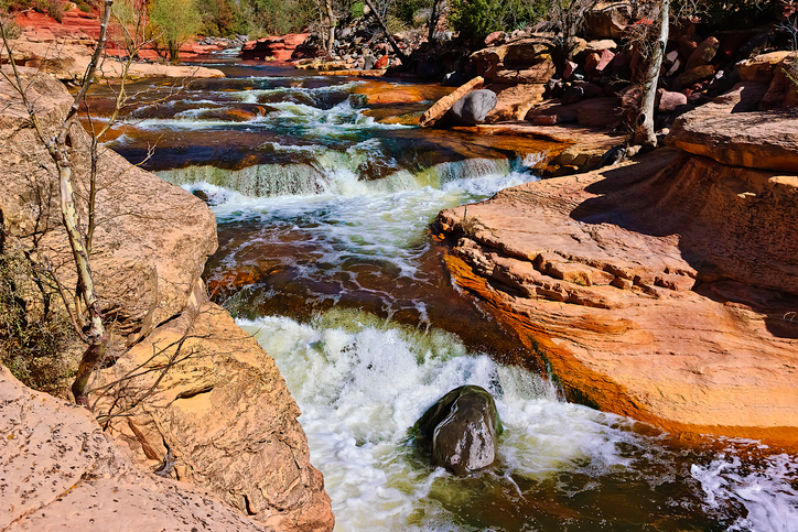 Slide Rock State Park, AZ