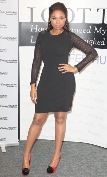 Jennifer Hudson's little black dress