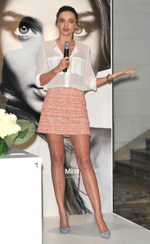 Miranda Kerr -- Spring chic