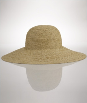 Ralph Lauren Rafia Straw Floppy Hat, $269.00
