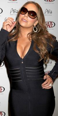 Mariah Carey at Haze Nightclub in Las Vegas
