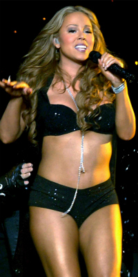 Mariah Carey live at Madison Square Gardens in 2006