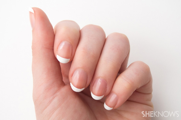 8 Step do-it-yourself French manicure | SheKnows.com