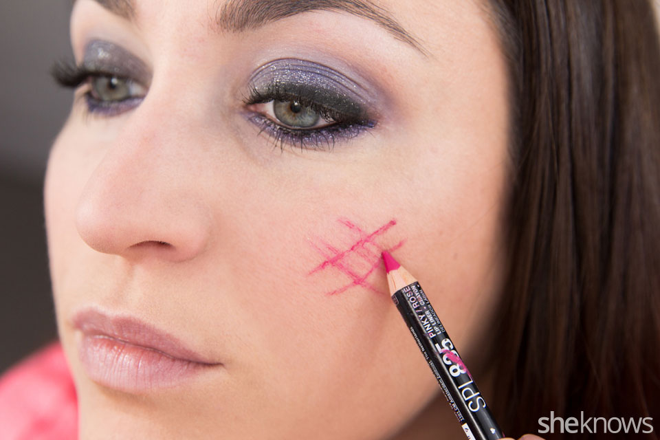 fastest glam party makeup tutorial: Step 11