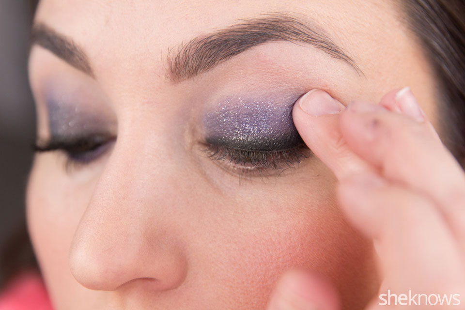 fastest glam party makeup tutorial: Step 3