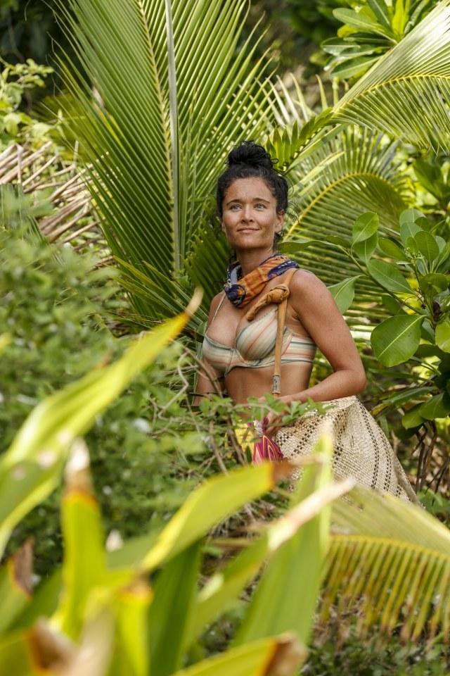 Stephanie Johnson on Survivor: Ghost Island