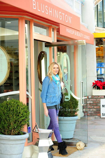 Stephanie Pratt at Blushington