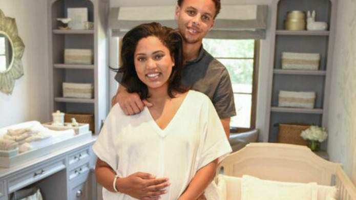 Stephen and Ayesha Curry welcome second