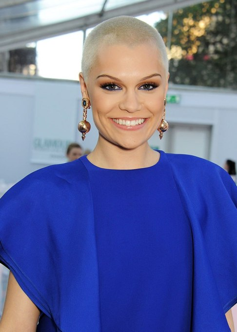 Dramatic Celebrity Hair Makeovers | After: Jessie J